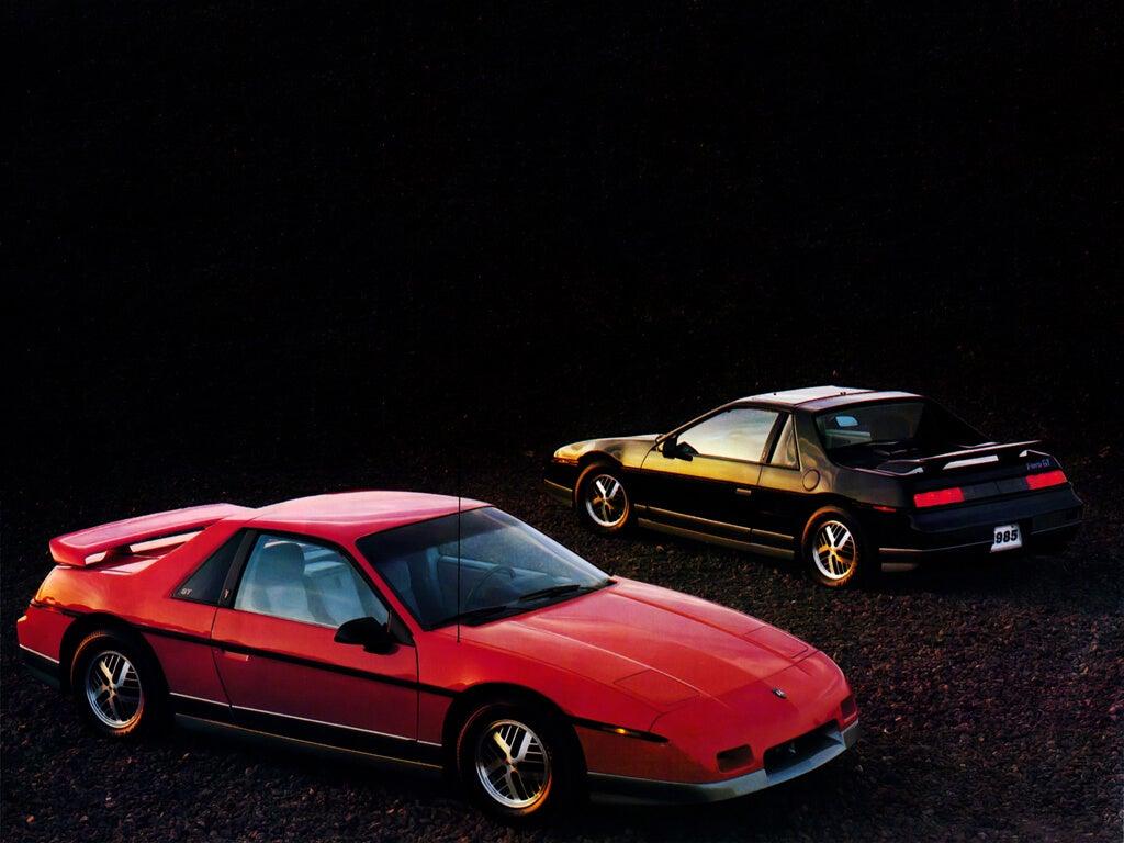 Pontiac Fiero, el deportivo de motor central procedente de Detroit