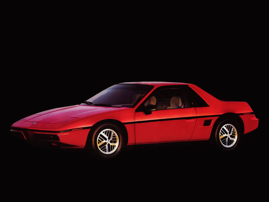 medio perfil pontiac fiero 1983 1988