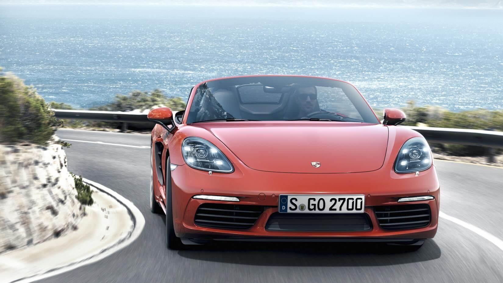 Porsche 718 Boxster: frontal