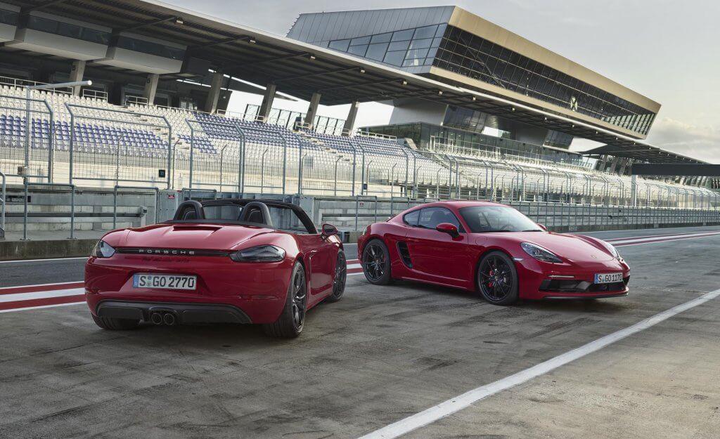 Porsche 718 GTS, más potencia orientada a la conducción