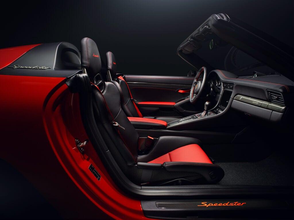 Interior Porsche 911 Speedster Concept II 2018