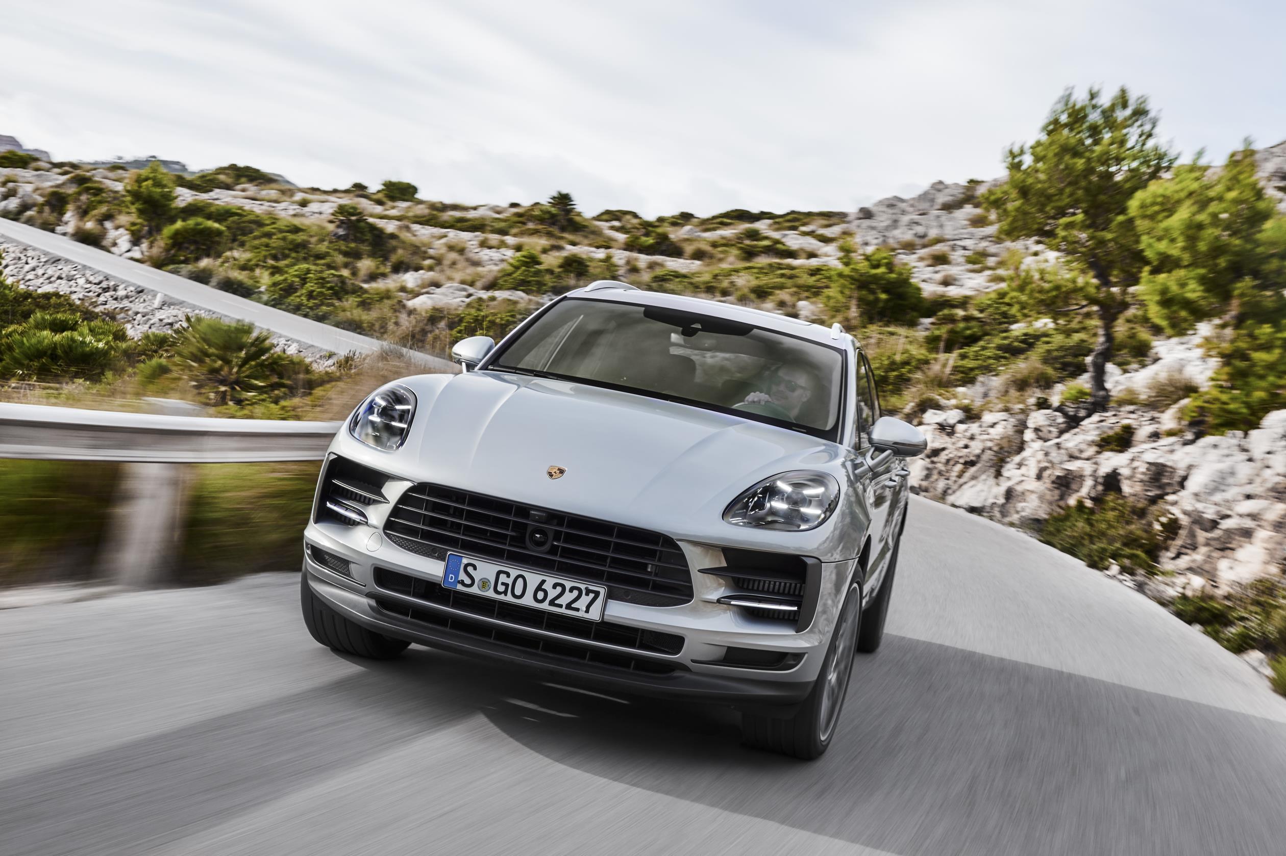 Porsche Macan S 2019: morro