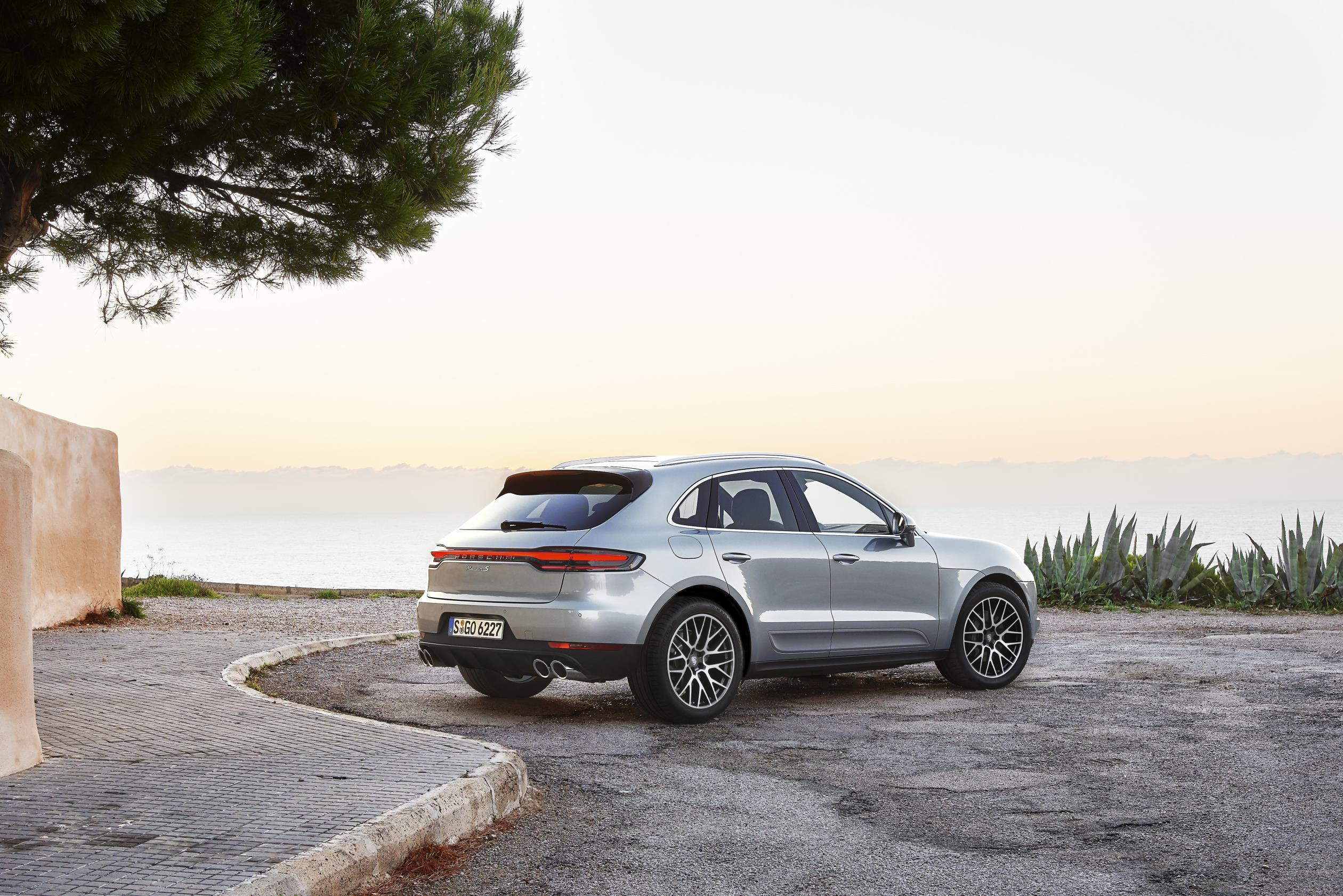 Porsche Macan S 2019: trasera