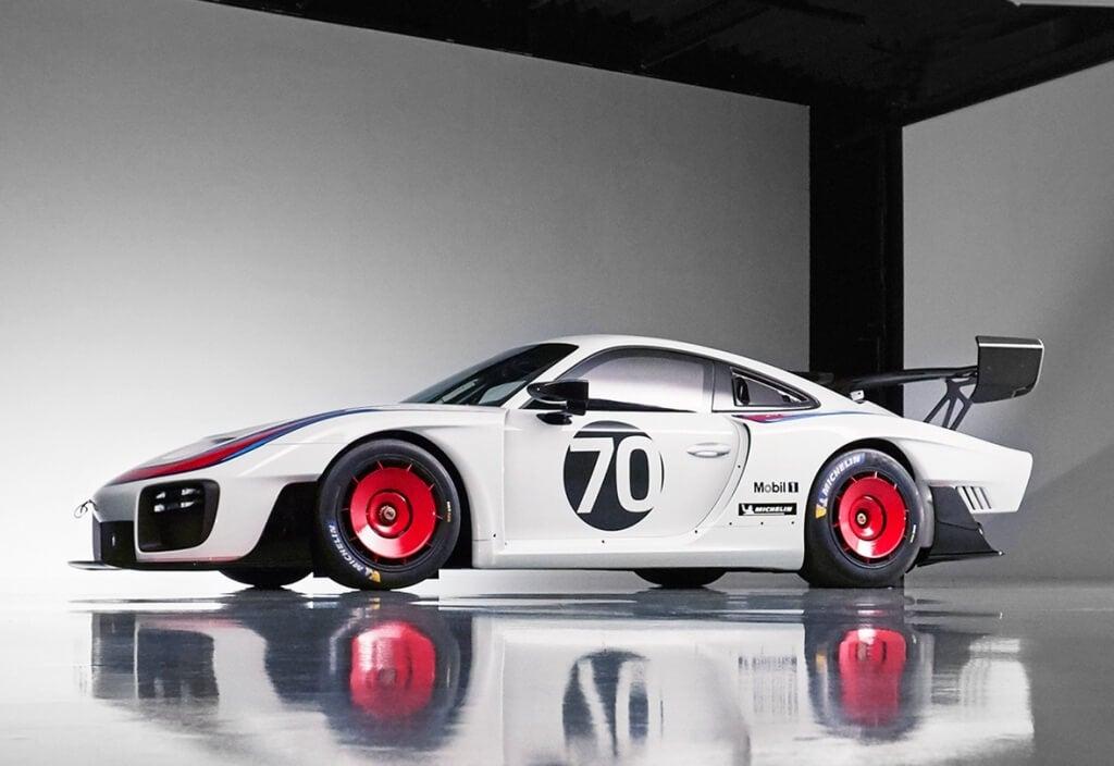 perfil del Porsche 935 año 2019