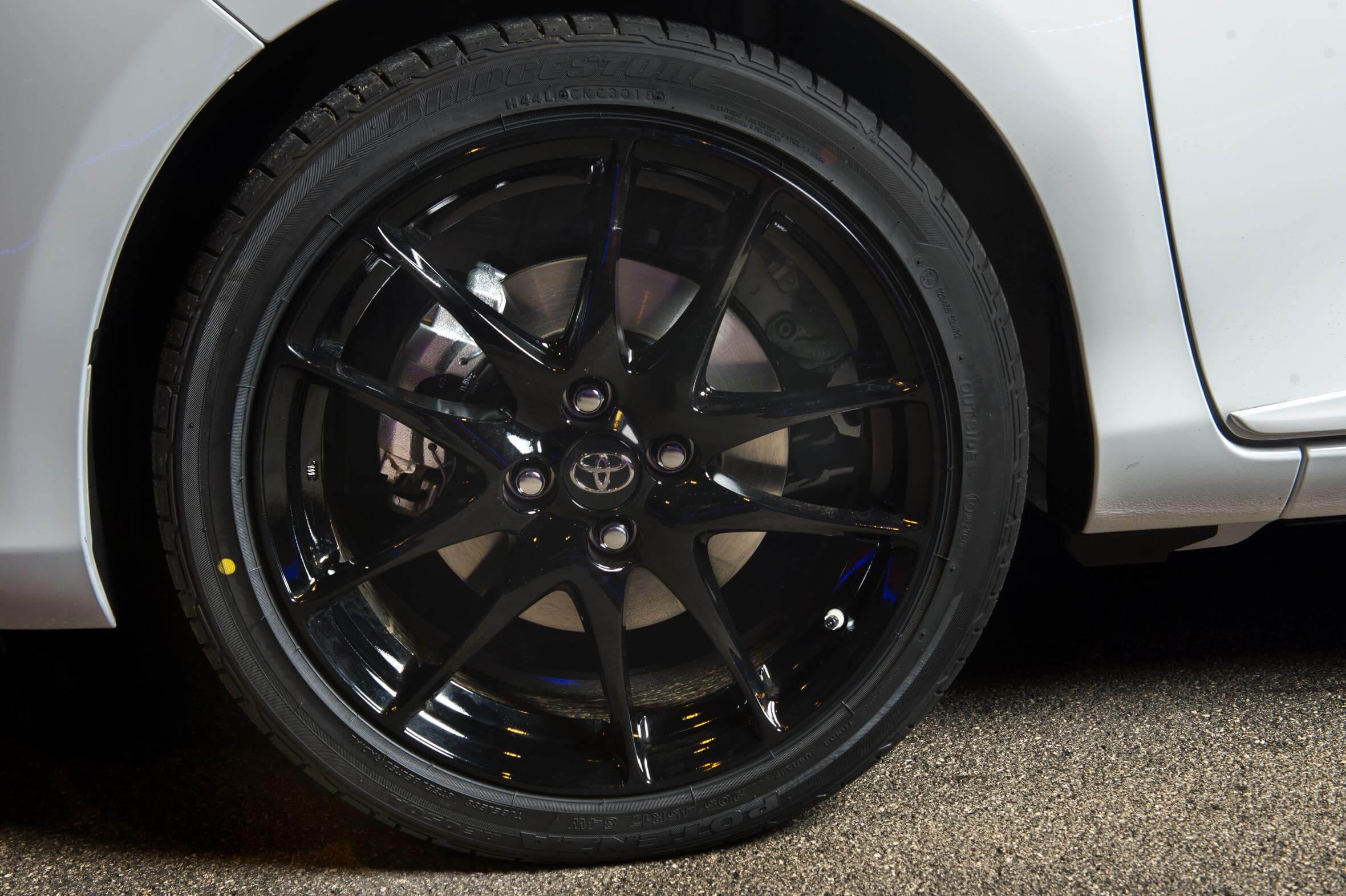 Toyota Yaris GR-Sport: llanta