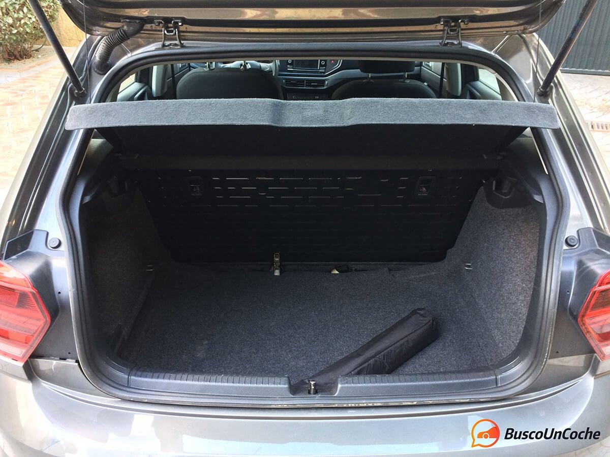 Volkswagen Polo 2018 1.0 EVO: maletero