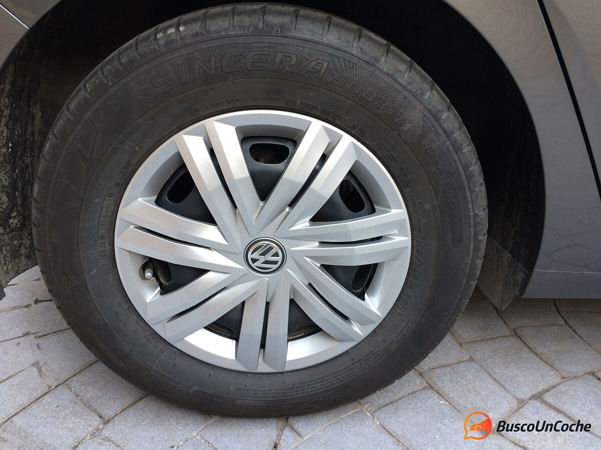 Volkswagen Polo 2018 1.0 EVO: rueda