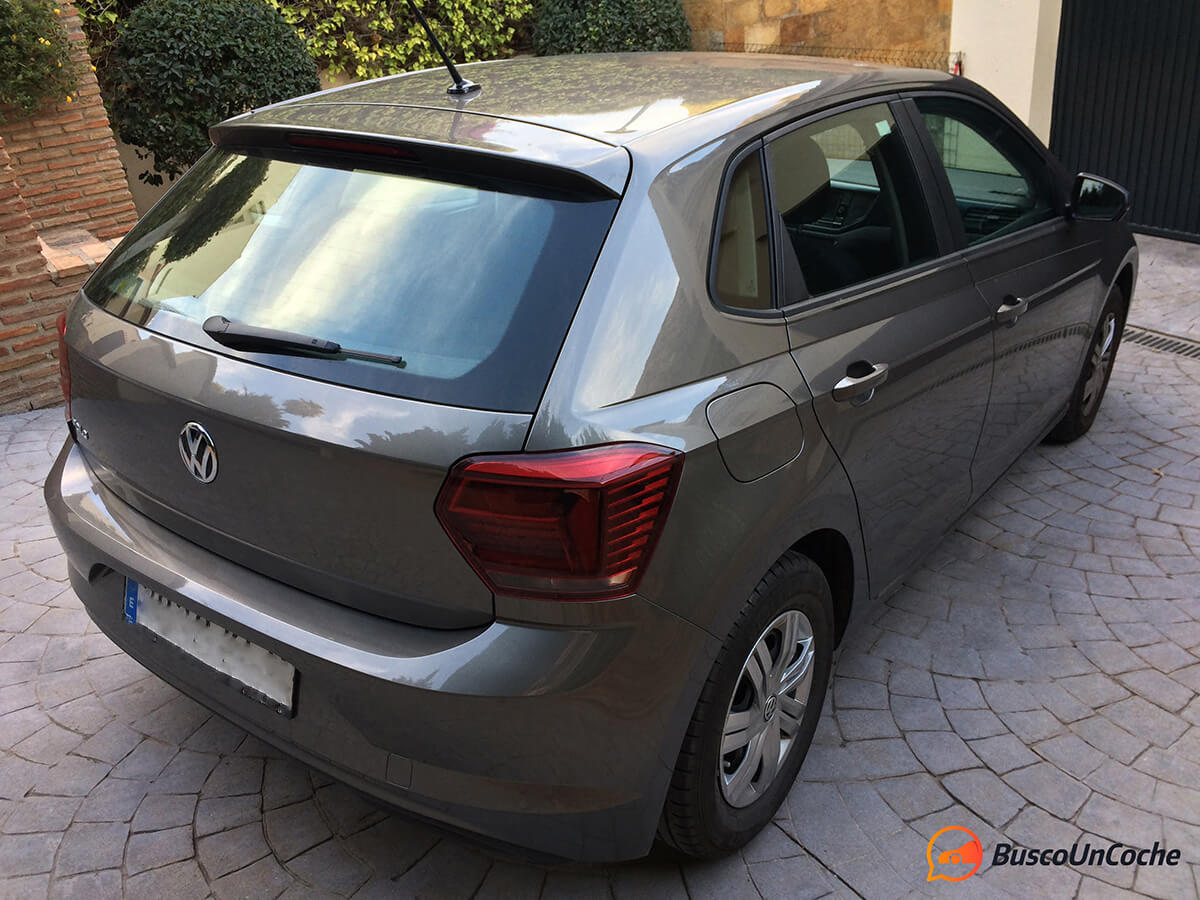 Volkswagen Polo 2018 1.0 EVO: trasera