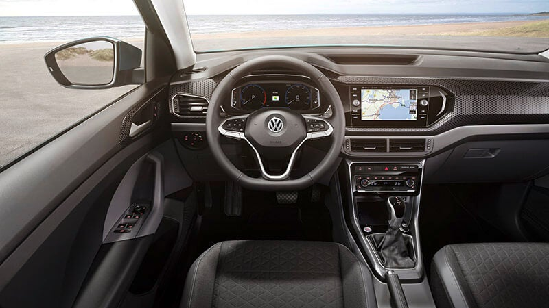 Volkswagen T-Cross First Edition: interior
