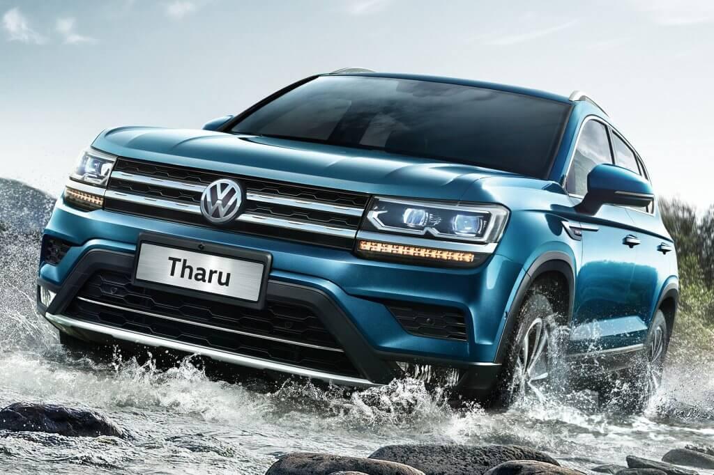 Volkswagen Tharu, un gigante de altura