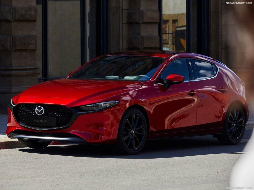 Frontal del nuevo Mazda 3