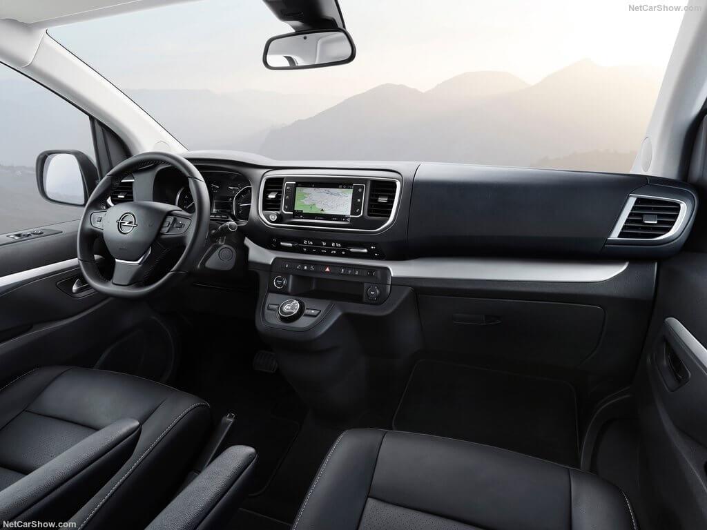 Opel Zafira Life 2019, interior