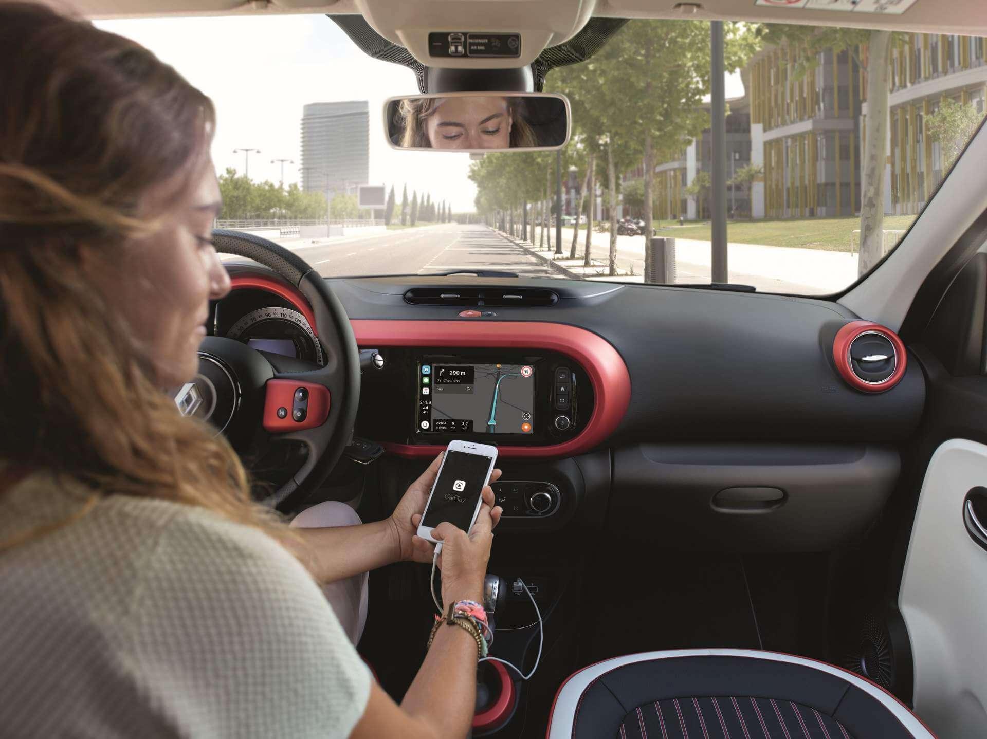 Habitáculo del Renault Twingo 2019.