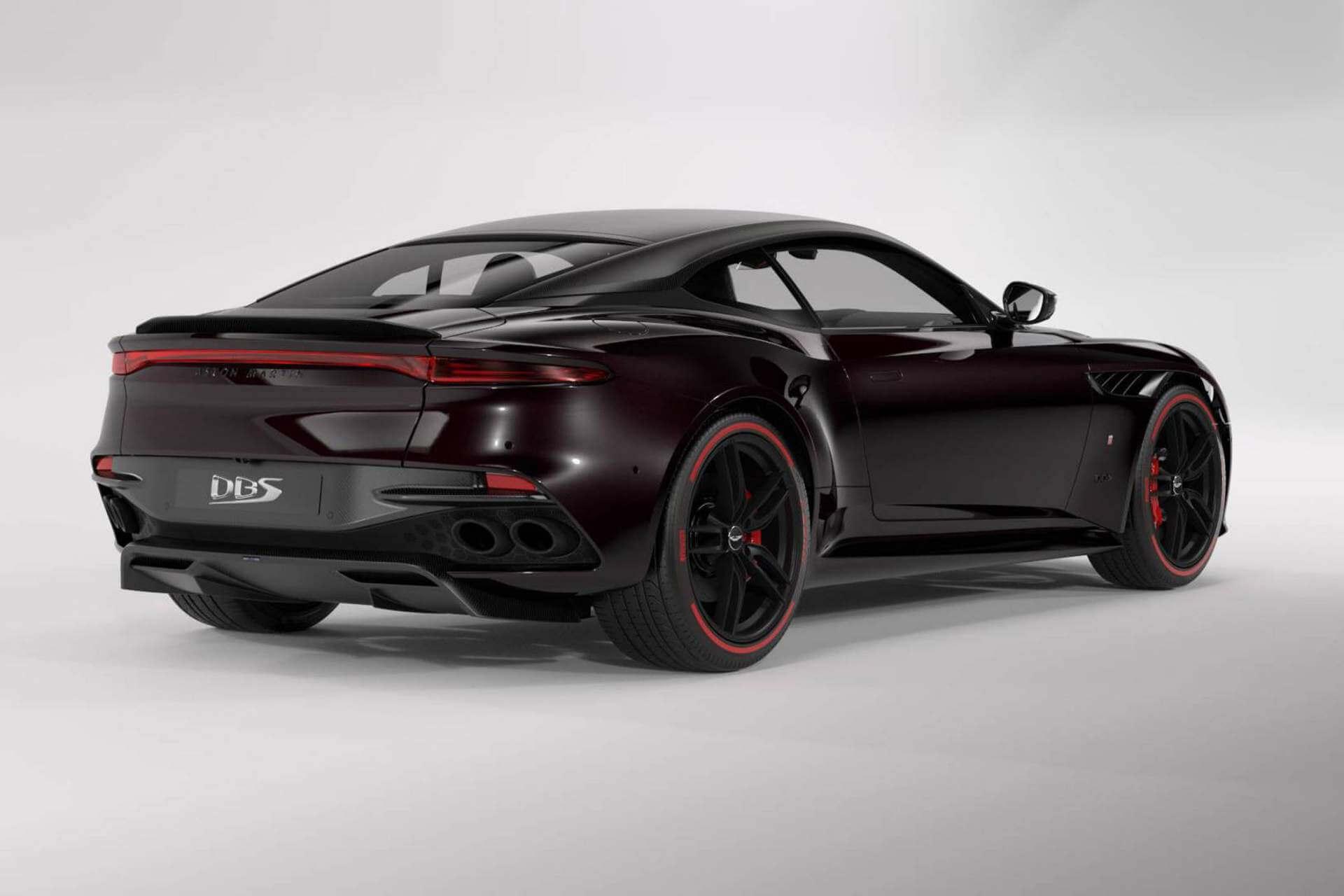 Zaga del Aston Martin DBS Superleggera TAG Heuer.