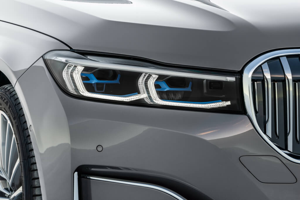 BMW Serie 7 2019: luces láser.