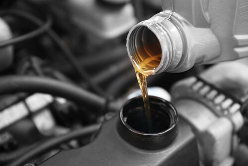 Cambio de aceite en casa