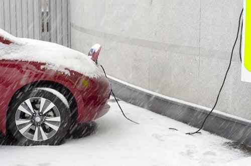 Coches eléctricos en invierno