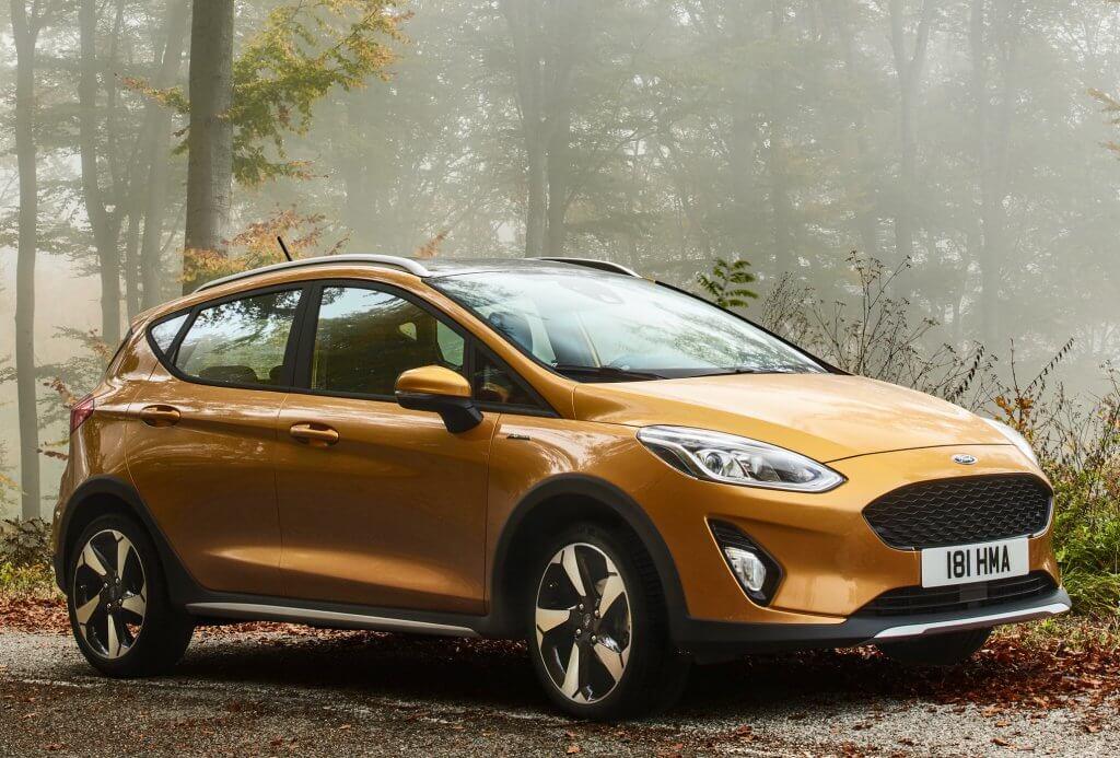 Ford Fiesta Active, aires de todocamino para el utilitario americano