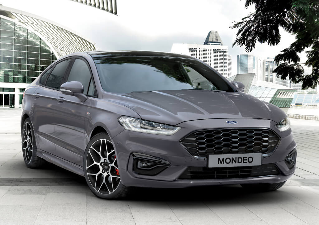 Ford Mondeo ST-Line 2019: frontal.
