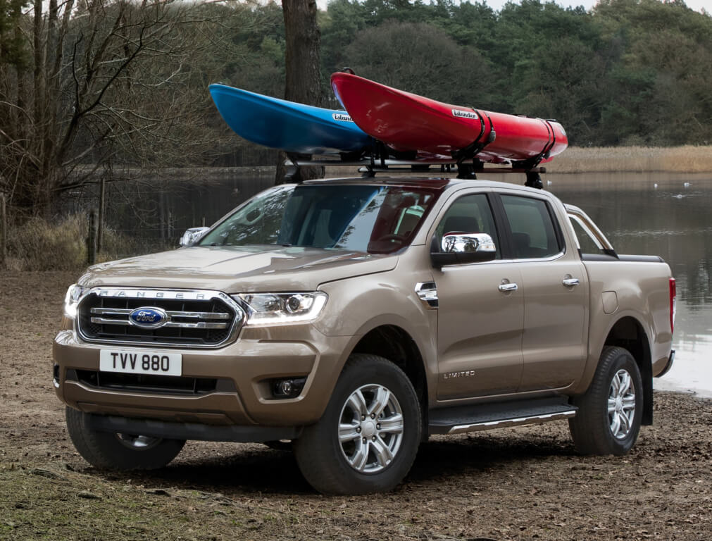 Frontal del Ford Ranger 2019 Limited.