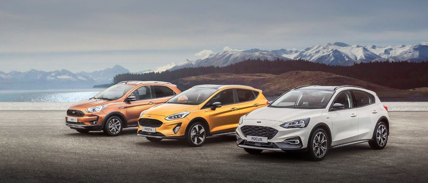 Gama Ford Active (Focus, Fiesta y Ka+).