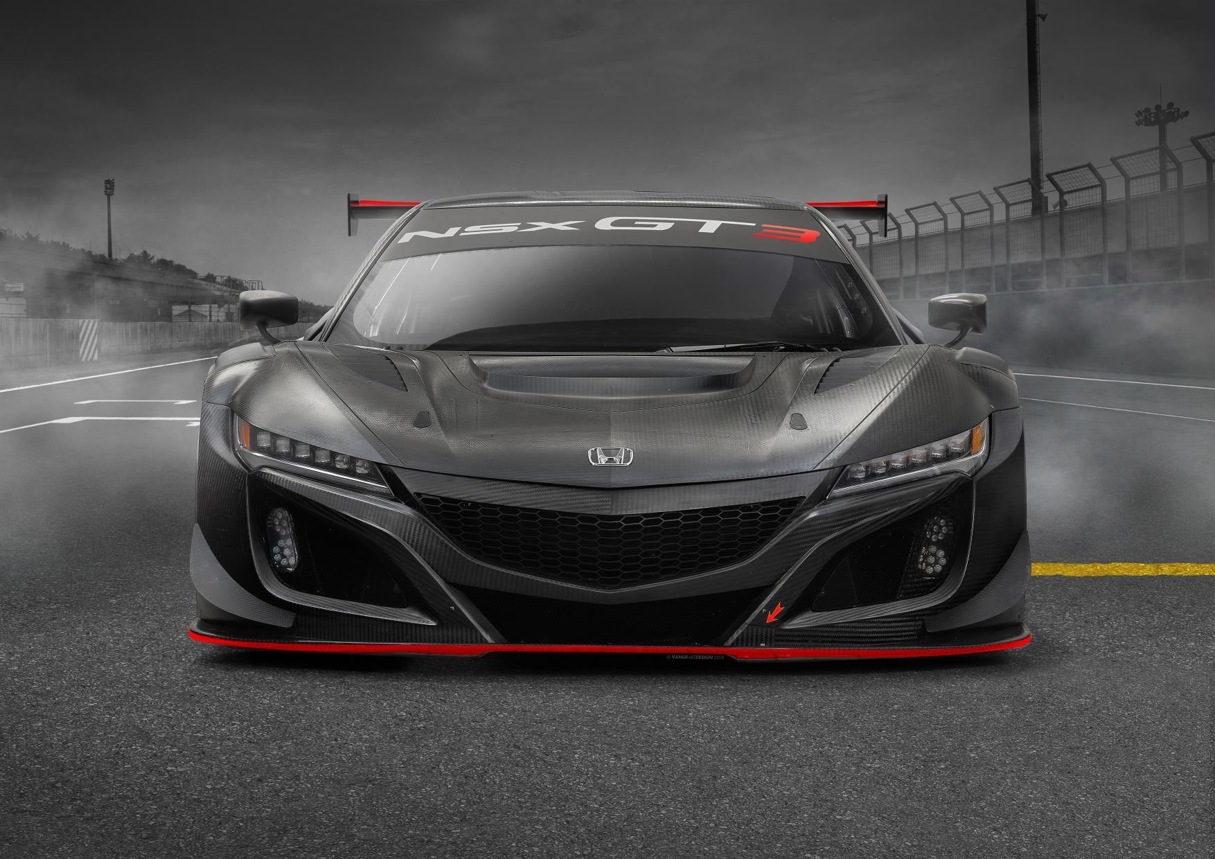 Honda NSX GT3 Evo, la actualización de la versión para circuito