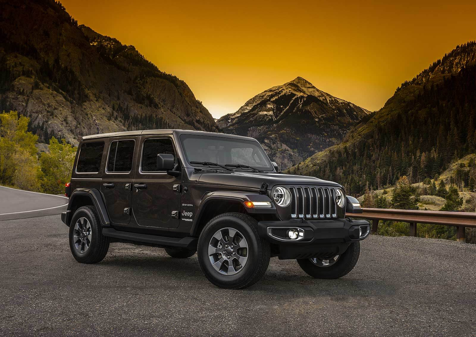 vista medio perfil jeep wrangler 2018