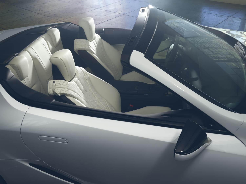 Lexus LC descapotable: plazas traseras