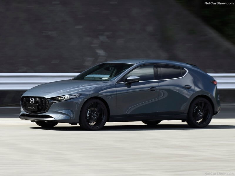 Mazda 3, diseño frontal.