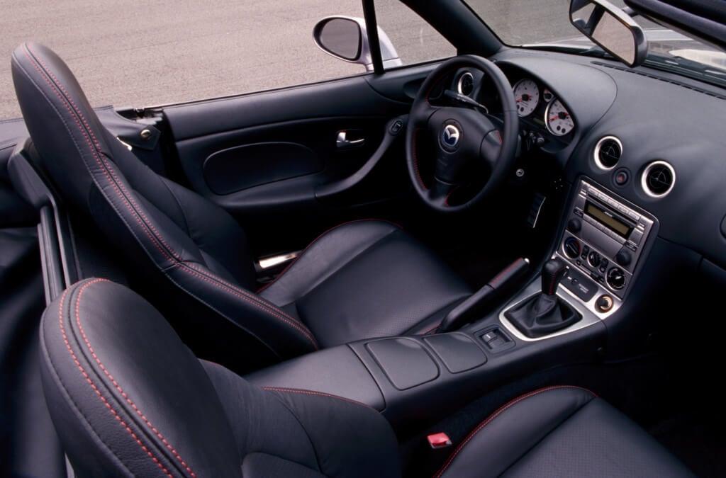 Mazdaspeed Miata: interior