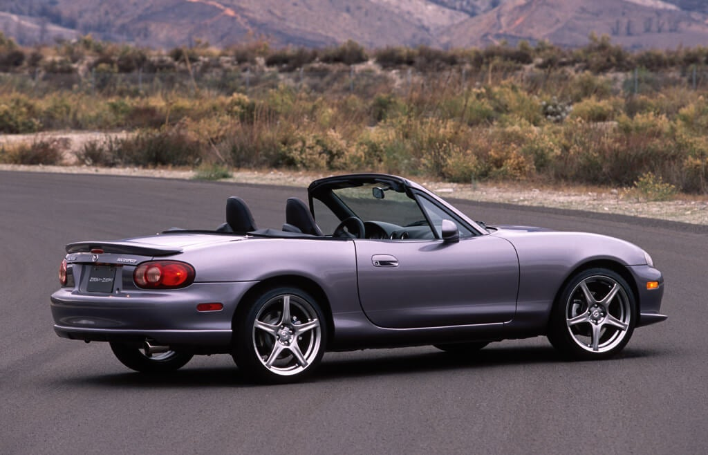 Mazdaspeed Miata: trasera