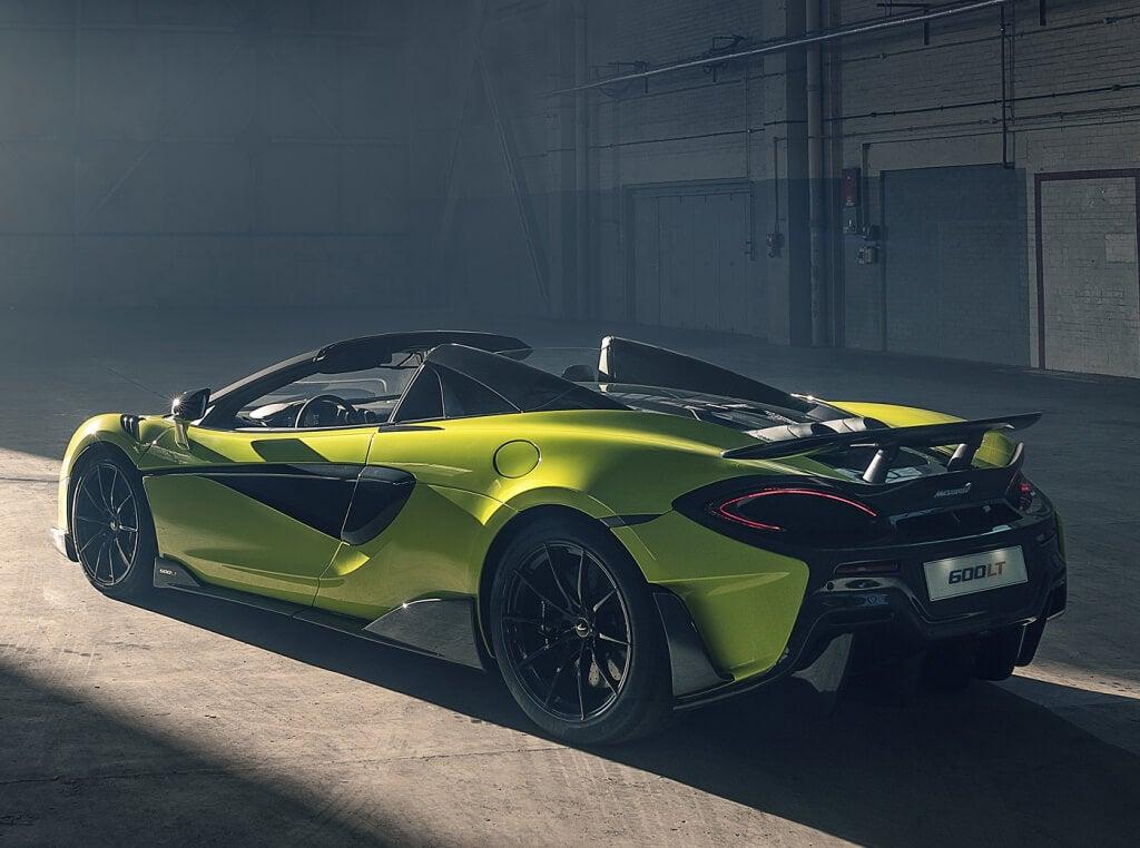McLaren 600LT Spider: zaga.