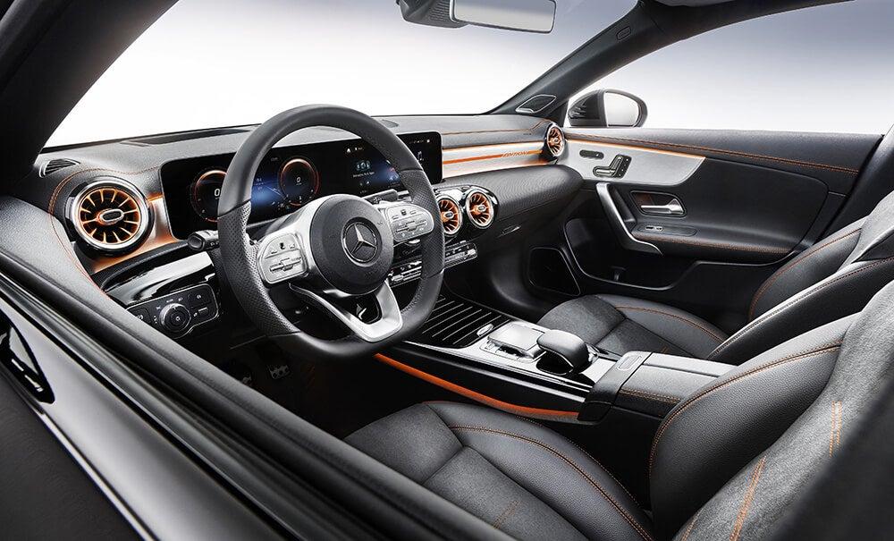 Mercedes CLA 2019: interior