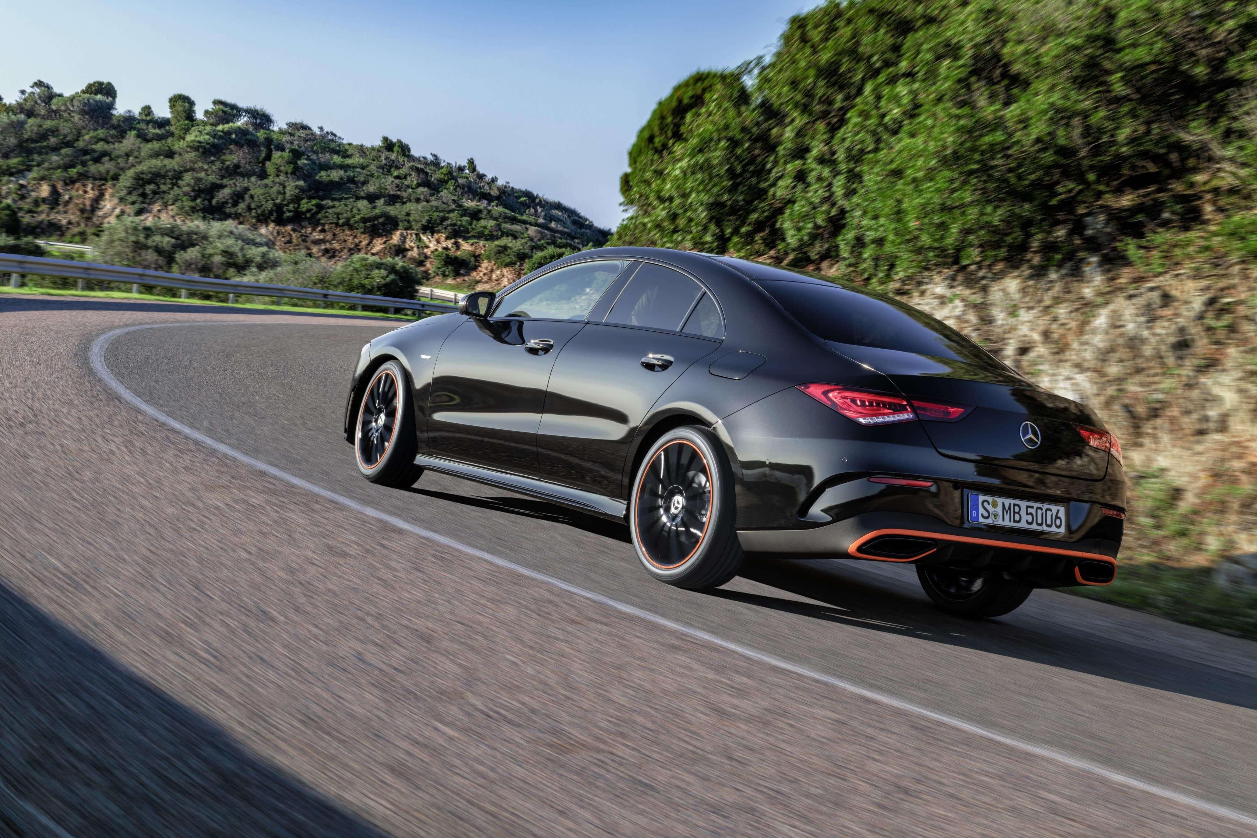 Mercedes CLA 2019: trasera