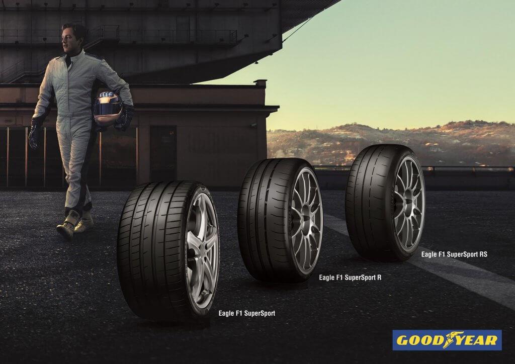 Gama Goodyear Eagle F1 SuperSport, agarre extremo para la carretera