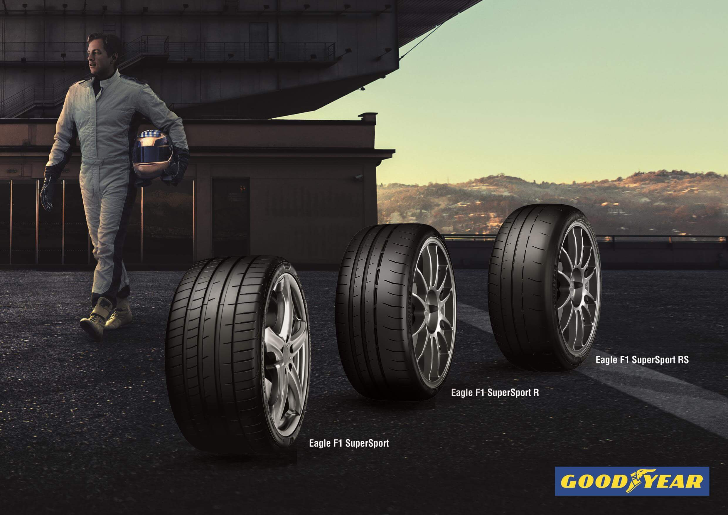 Gama Goodyear Eagle F1 SuperSport, agarre extremo para la carretera