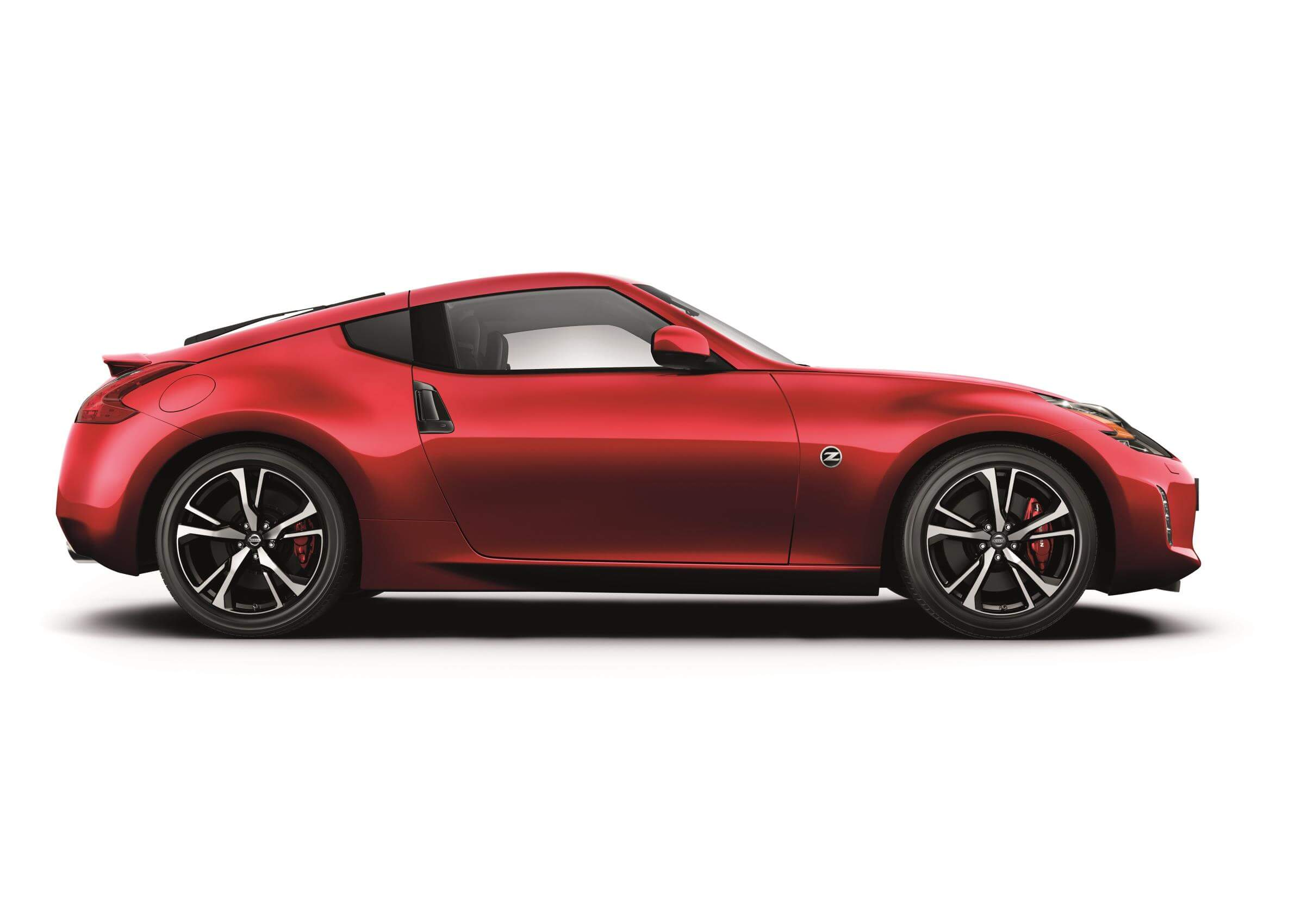 Nissan 370Z: lateral