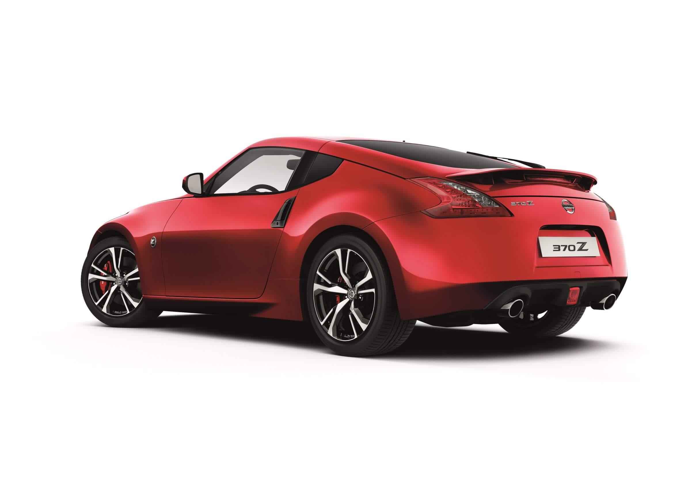 Nissan 370Z: trasera