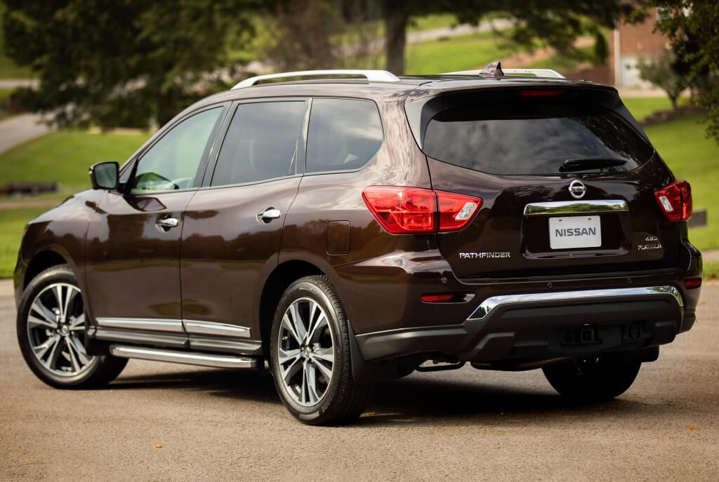 Nissan Pathfinder: trasera