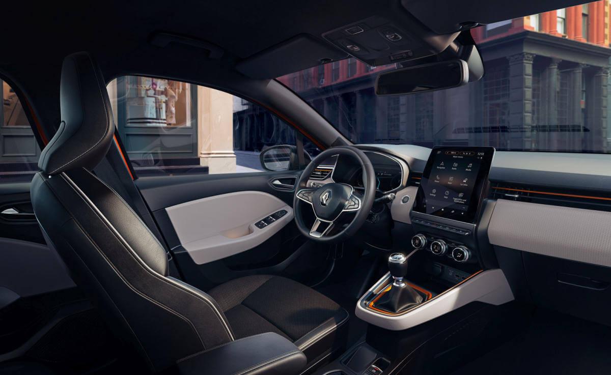 Renault Clio 2019: interior.