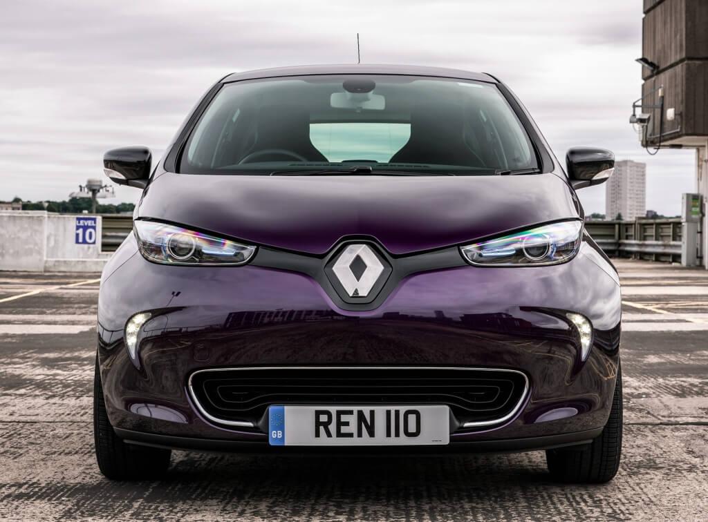 renault lider en coches electricos en 2018 con el zoe