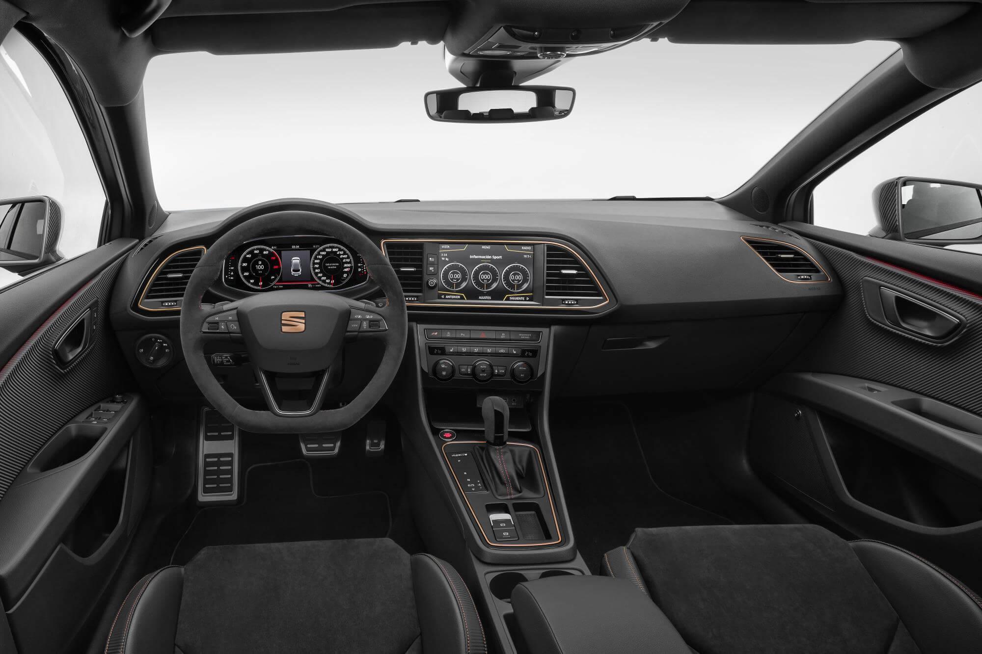 SEAT Leon ST CUPRA R: interior