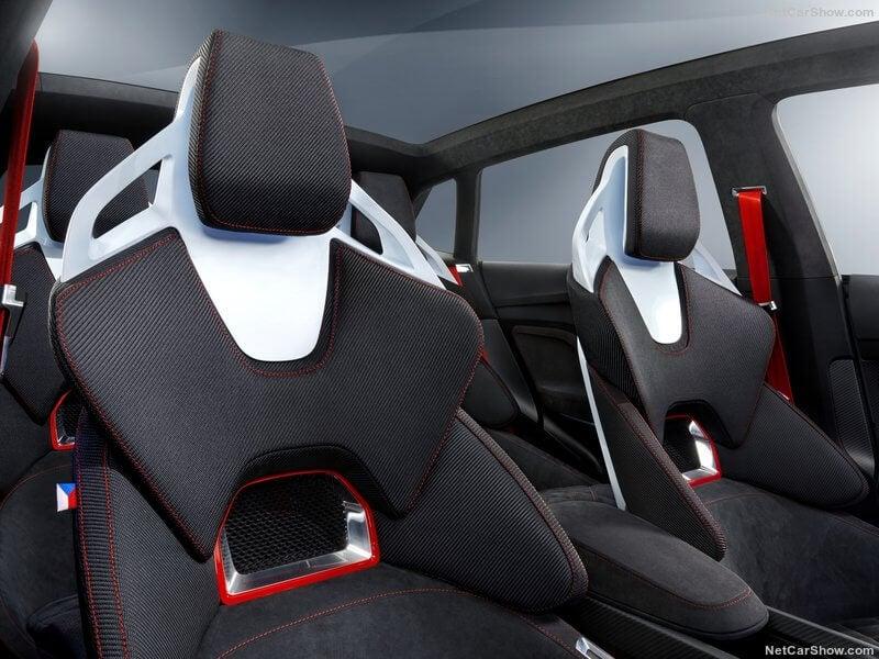 Skoda Vision RS Concept: asientos totalmente deportivos