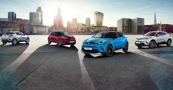 Toyota C-HR: colores