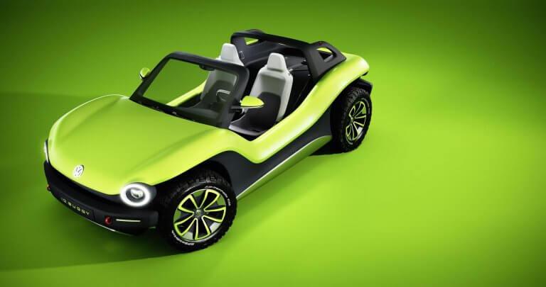Reinterpretación eléctrica para resucitar al Volkswagen Buggy