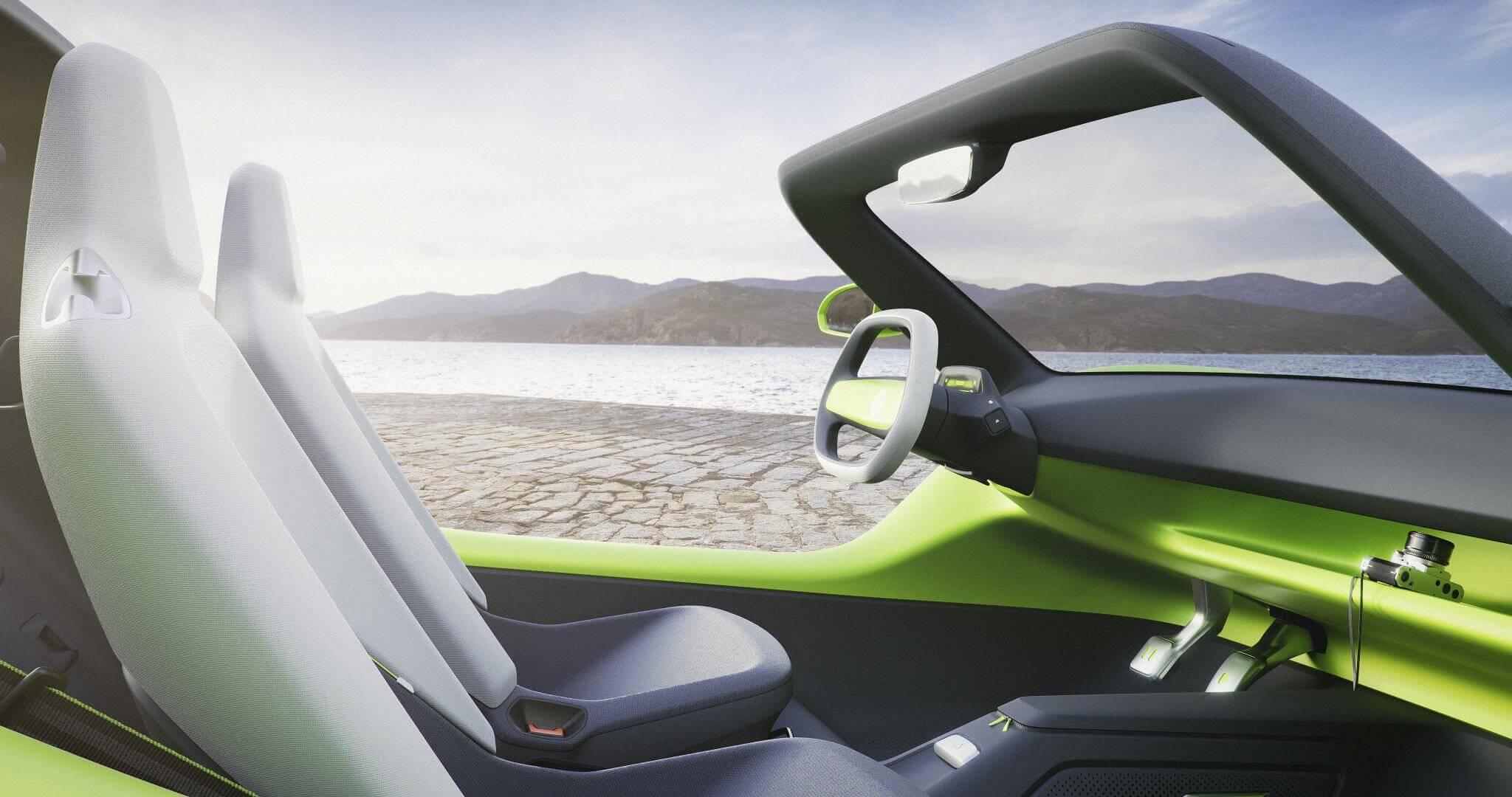 Volkswagen Buggy: interior