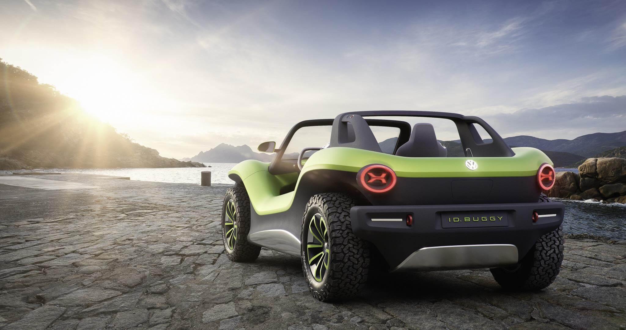 Volkswagen Buggy: trasera