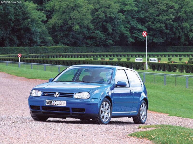 Volkswagen Golf IV de 1997.