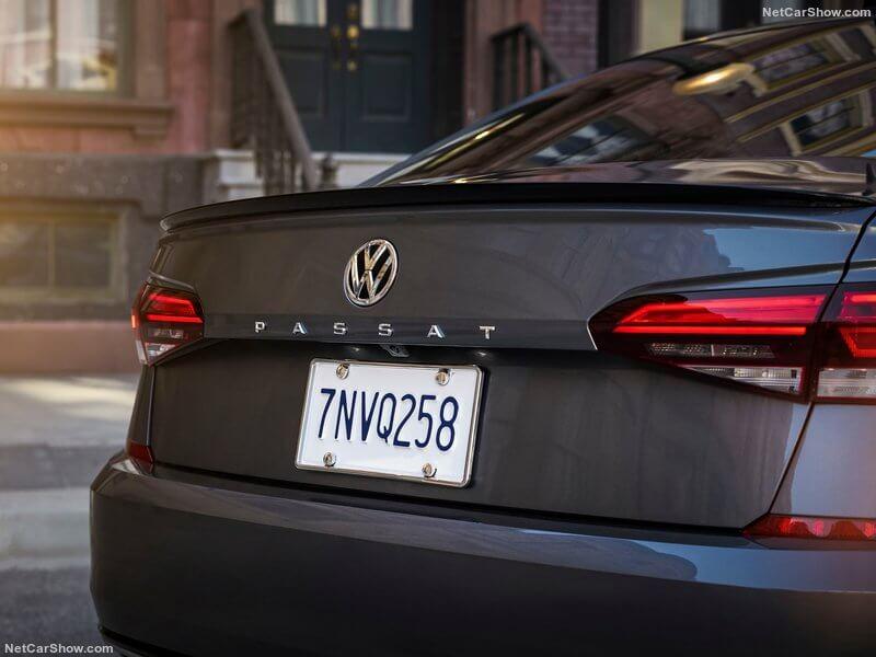 Volkswagen Passat, detalles traseros.