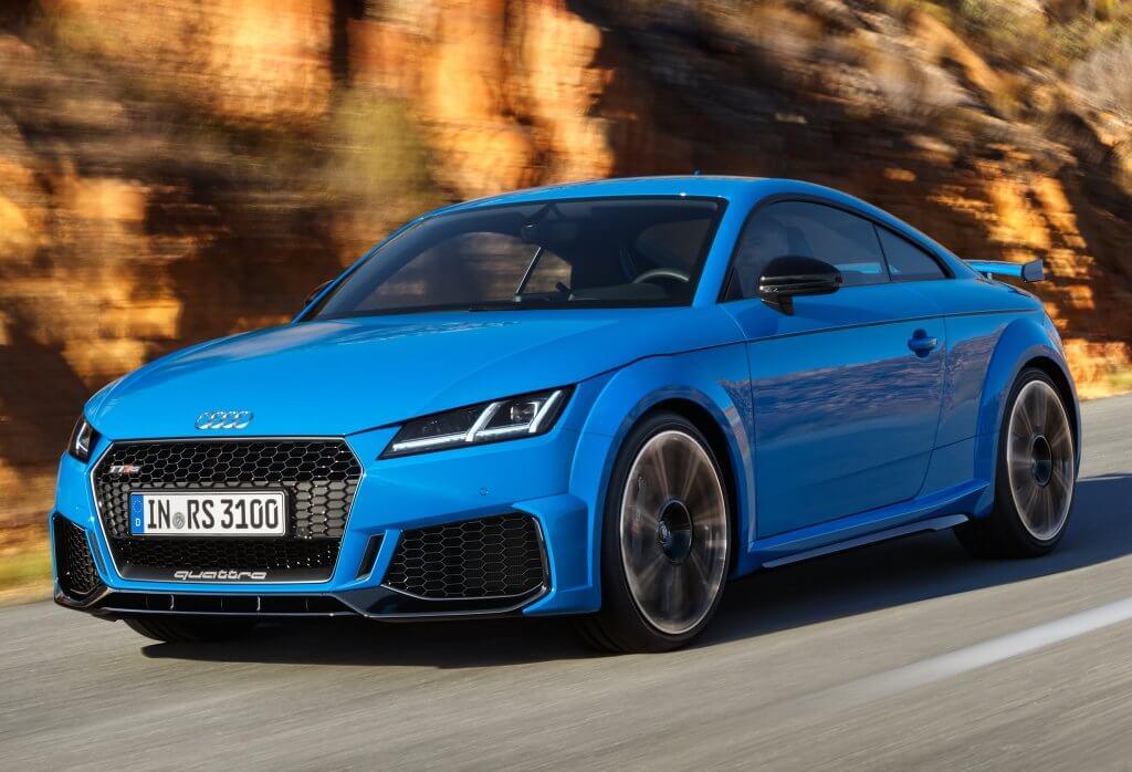 Audi TT RS 2019, más agresividad para la quinta esencia alemana